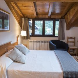 Double room in the attic