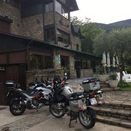 Moto routes Hotel Flòrido Lleida