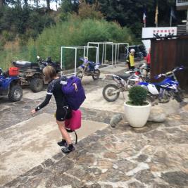 Tourisme à moto Hotel Flòrido LLeida
